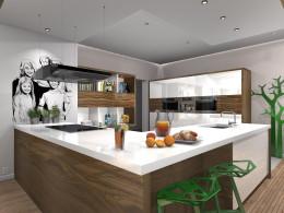 Otwarta kuchnia dla rodziny