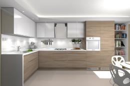 Metamorfoza kuchni w domu pod Warszawą-trzy koncepcje
