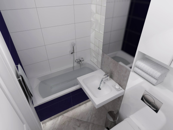 Malutka łazienka Inside Story E Aranżacjepl
