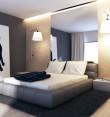 Sypialnia z kotem