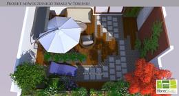 Minimalistyczny projekt tarasu II