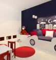 Pokój małego miłośnika samochodów