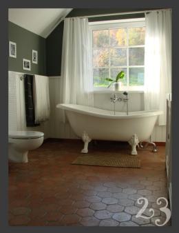 łazienka retro