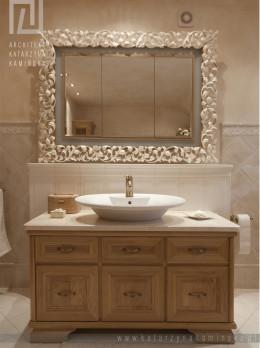 Klasyczna łazienka w płytkach Grazia