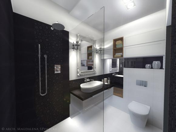 łazienka W Stylu Glamour Magdalena Szymecka E Aranżacjepl