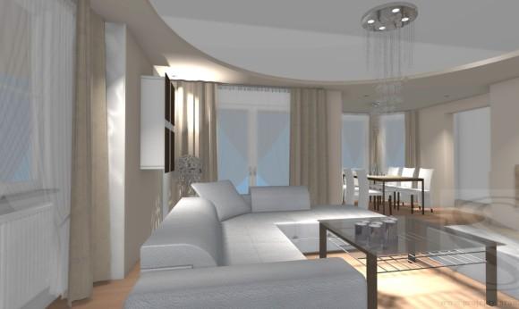 Salon Z Jadalnią 40m2 Miejsce Realizacji Tarnów Www