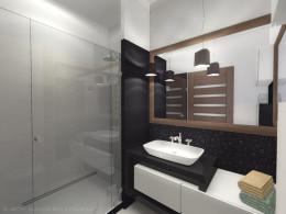 Mała łazienka przy sypialni