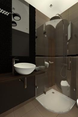 projekt szpitalna płock łazienka gościnna- koncepcja