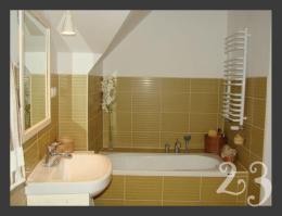 łazienka oliwkowa