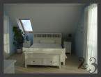 sypialnia niebieska