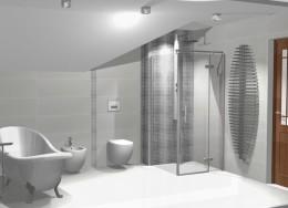 Wizaualizacja łazienki