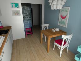 Kuchnia w mieszkaniu w stylu skandynawskim