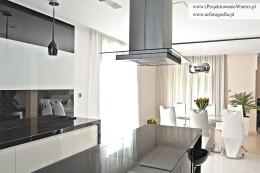 Kuchnia z salonem-zdjęcia z realizacji