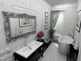 łazienka glamour Warszawa