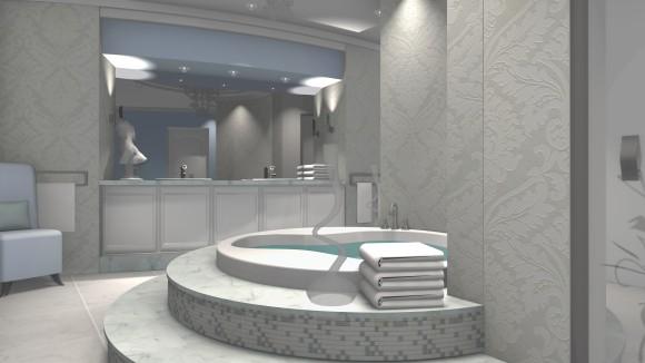 łazienka W Stylu Glamour Wwwprojekty Aranzacjepl Natalia