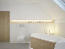 łazienka na poddaszu II