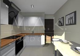 Projekt kuchni - Kromołów