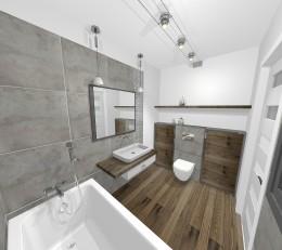 Projekty łazienek - inspiracje