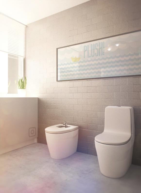 łazienka Szaro żółta Dizajny Wszelakie Akuratnie E