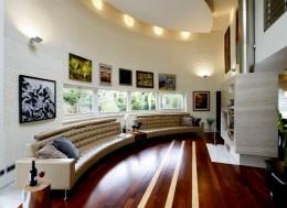 Dom zaprojektowany w duchu modernizmu