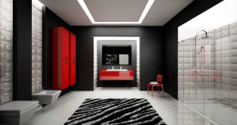 projekt łazienki minimalistycznej