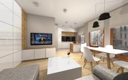 Mieszkanie w Warszawie - scandi styl