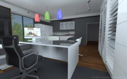 Biuro w studiu mebli