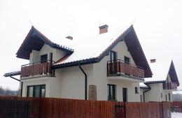Projekt domów jednorodzinnych w miejscowości Giebułtów