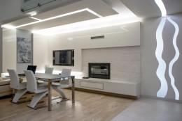 Projekt wnętrza - malowane światłem