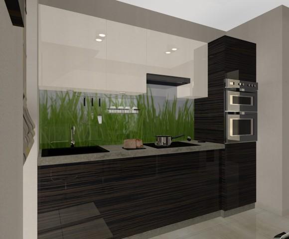 Projekt kuchni  Dominika Moch  e aranżacje pl -> Projekt Kuchni Trójmiasto