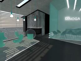 Koncepcja hotelu Minoga