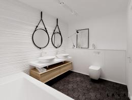 eklektyczne powiązania: łazienka