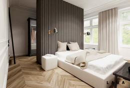 eklektyczne powiązania: sypialnia