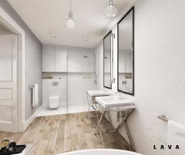 nasycone bielą: łazienka