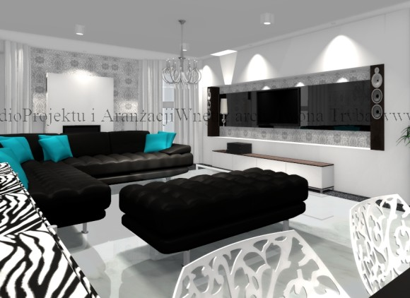 salon z jadalni natalia e aran. Black Bedroom Furniture Sets. Home Design Ideas