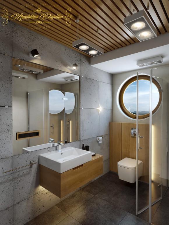Beton Architektoniczny W łazience Manufaktura Projektów