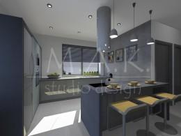 Projekt kuchni w Porębie