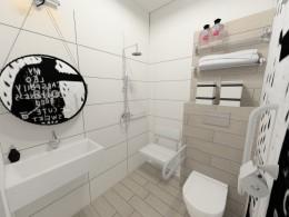 łazienka dla młodszych i starszych