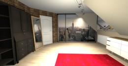 pokój w stylu Loft