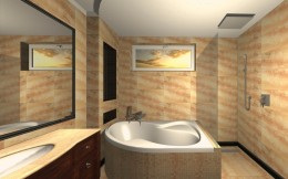łazienka w kolekcji Zień Monaco