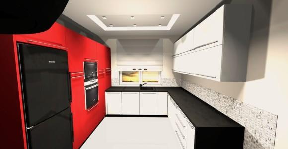 Kuchnia Biało Czerwona Anna łysiak E Aranżacjepl