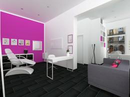 Wizualizacja salonu kosmetycznego