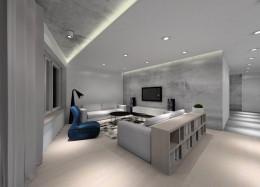 Apartament w stylu loft.