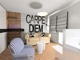 domowe biuro + pokój gościnny