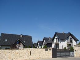 Projekt domów jednorodzinnych w miejscowości Zielonki