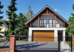 Dom jednorodzinny w Krakowie przy ul. Mochnaniec