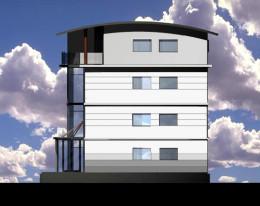 Kolorystyka elewacji budynku