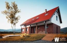 Dom jednorodzinny z widokiem na góry