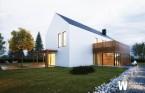 Minimalistyczny dom jednorodzinny
