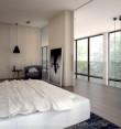 Sypialnia z łazienką we włoskim stylu